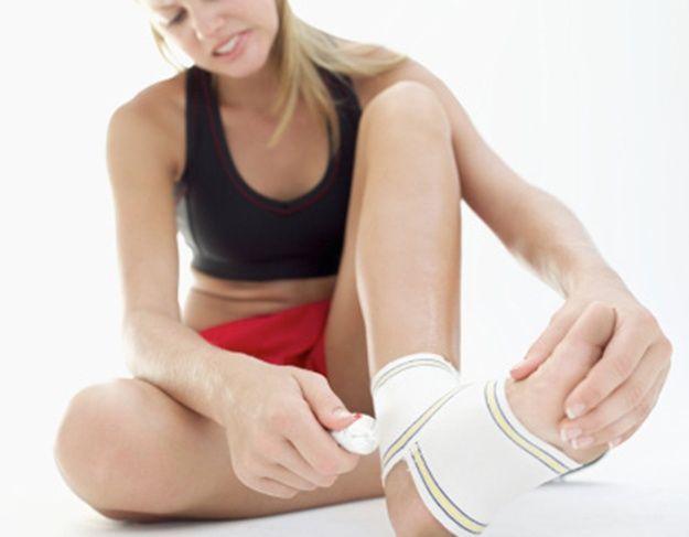 curar esguinces de tobillo